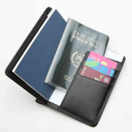 [WOOSUNG] Cowhide FG Passport Holder Cover Wallet, Travel Wallet, Pen Holder_Made In KOREA