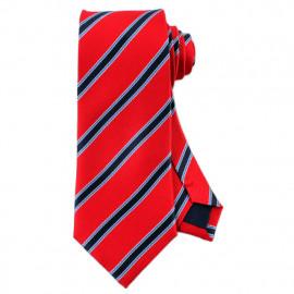 [MAESIO] KSK2039 100% Silk Striped Necktie 8cm _ Men's Ties Formal Business, Ties for Men, Prom Wedding Party, All Made in Korea