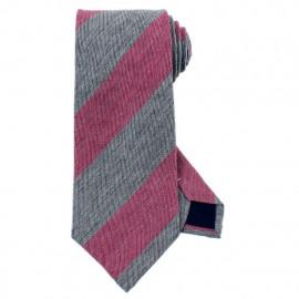 [MAESIO] KSK2112 Wool Silk Striped Necktie 8cm _ Men's Ties Formal Business, Ties for Men, Prom Wedding Party, All Made in Korea