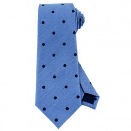 [MAESIO] KSK2273 Wool Silk Dot Necktie 8cm _ Men's Ties Formal Business, Ties for Men, Prom Wedding Party, All Made in Korea