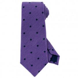 [MAESIO] KSK2274 Wool Silk Dot Necktie 8cm _ Men's Ties Formal Business, Ties for Men, Prom Wedding Party, All Made in Korea