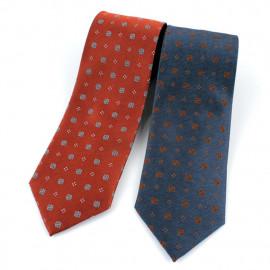 [MAESIO] KSK2617 100% Silk Allover Necktie 8cm 2Color _ Men's Ties Formal Business, Ties for Men, Prom Wedding Party, All Made in Korea