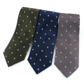 [MAESIO] KSK2618 100% Silk Floral Necktie 8cm 3Color _ Men's Ties Formal Business, Ties for Men, Prom Wedding Party, All Made in Korea