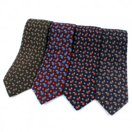 [MAESIO] MST1313 100% Wool Allover Necktie 8cm 4Color _ Men's Ties Formal Business, Ties for Men, Prom Wedding Party, All Made in Korea