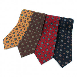 [MAESIO] KCT0002 Fashion Allover Necktie 8cm 4Color _ Men's Ties Formal Business, Ties for Men, Prom Wedding Party, All Made in Korea