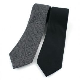 [MAESIO] KCT0011 Fashion Herringbone  Stripe Necktie 8cm 2Color _ Men's Ties Formal Business, Ties for Men, Prom Wedding Party, All Made in Korea