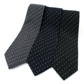 [MAESIO] KCT00021 Fashion dot Necktie 8cm 3Color _ Men's Ties, Formal Business, Ties for Men, Prom Wedding Party, All Made in Korea