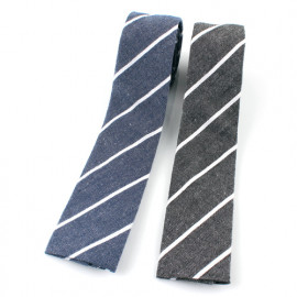 [MAESIO] KCT0056 Fashion Stripe Necktie 8cm 2Color _ Men's Ties, Formal Business, Ties for Men, Prom Wedding Party, All Made in Korea