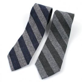 [MAESIO] KCT0106 Fashion Stripe NeckTie 8cm 2Color _ Men's Tie, Business Office Look, Wedding Party,Made in Korea,