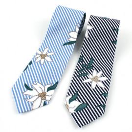 [MAESIO] KCT0107 Fashion Flower Stripe NeckTie 8cm 2Color _ Men's Tie, Business Office Look, Wedding Party,Made in Korea,