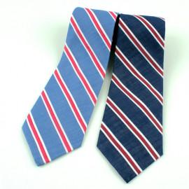 [MAESIO] KCT0110 Fashion Stripe NeckTie 8cm 2Color _ Men's Tie, Business Office Look, Wedding Party,Made in Korea,