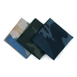 [MAESIO] KHC8040 Handkerchief Camouflage_ Men's Handkerchief Mens Pocket Squares, Made in Korea