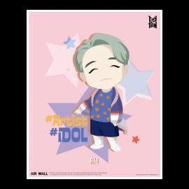 [Airtec] BTS, TinyTAN, Air Purification Deodorization Poster, Air Wall, RM _ Made in KOREA