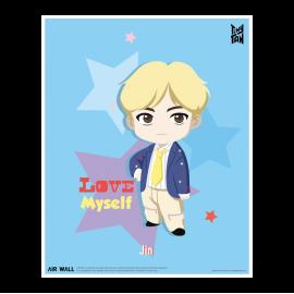 [Airtec] BTS, TinyTAN, Air Purification, Deodorization Poster Air Wall, Jin _ Made in KOREA