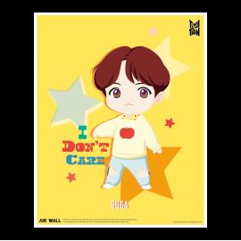 [Airtec] BTS, TinyTAN, Air Purification Deodorization Poster, Air Wall, SUGA _ Made in KOREA