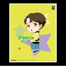 [Airtec] BTS, TinyTAN, Air Purification Deodorization Poster, Air Wall, j-hope _ Made in KOREA