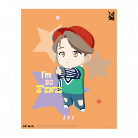 [Airtec] BTS, TinyTAN, Air Purification, Deodorization Poster, Air Wall, Jimin _ Made in KOREA