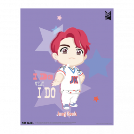 [Airtec] BTS, TinyTAN, Air Purification, Deodorization Poster, Air Wal,l Jung Kook _ Made in KOREA