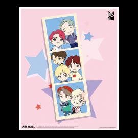 [Airtec] BTS, TinyTAN, Air Purification Deodorization, Poster, Air Wall, TinyTAN_3 _ Made in KOREA