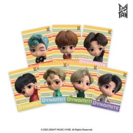 [Airtec] BTS, TinyTAN, Air Purification Deodorization Poster, Air Wall (A5 Stripe) _ Made in KOREA