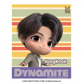 [Airtec] BTS, TinyTAN, Air Purification Deodorization Poster, Air Wall (stripe), JungKook _ Made in KOREA