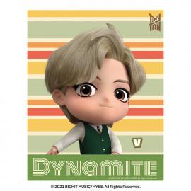 [Airtec] BTS, TinyTAN, Air Purification Deodorization Poster, Air Wall (stripe), V _ Made in KOREA