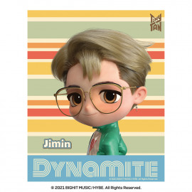 [Airtec] BTS, TinyTAN, Air Purification Deodorization Poster, Air Wall (stripe), Jimin _ Made in KOREA