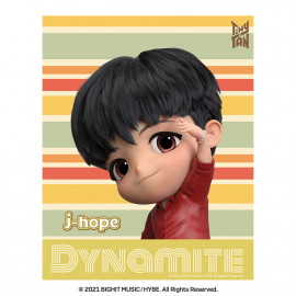 [Airtec] BTS, TinyTAN, Air Purification Deodorization Poster, Air Wall (stripe), j-hope _ Made in KOREA