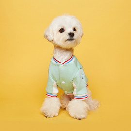 [FLOT] Stadium Jumper, Mint, Dog Clothes _ Dog Shirts, Pet T-Shirts _ Made in KOREA