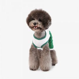 [TUSTUS] ALL IN ONE GREEN _ Dog Shirts Dog Clothes, Puppy Sleeveless T-Shirt Pet Clothes for Dog and Cat Wear, Made in Korea
