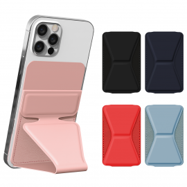[S2B] Alpha Rainbow Stand Card Pocket _ Smartphone Accessories, Card storage, Stand And Grip With iPhone, Samsung Galaxy, LG, Sony, HTC And More