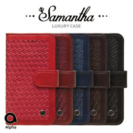 [S2B] Alpha Samantha Diary Case for Samsung Galaxy Note _ Multifunction Pockets Case Compatible For Samsung Galaxy Note 20/20Ultra/10/10Plus/9/8