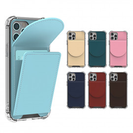 [S2B] Alpha Rainbow Card Pocket Case for Samsung Galaxy S _ Card Slot Full Body Protective Cover Compatible For Samsung Galaxy S S21/S21Plus/S21Ultra/S20/S20Plus/S20Ultra, Made in Korea