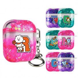 [S2B] BT21 Dream Team Aqua AirPods 1/2 Compatible Case_ BTS character AirPods, Made in Korea