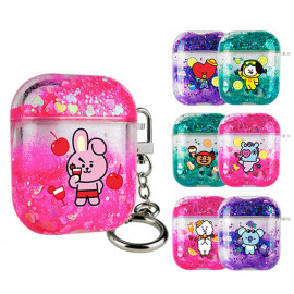 [S2B] BT21 Dolce Aqua AirPods 1/2 Compatible Case_ BTS character AirPods, Made in Korea