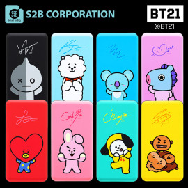 [S2B] BT21 Power Bank 10,000mAh _Portable Charger Quick Charging with iPhone, Samsung Galaxy, Android Phone, Tablet & etc
