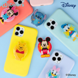 [S2B] DISNEY Color Jelly Grip Holder_ Disney Character, Phone finger ring holder Phone Strap Phone Grip Compatible with All Smartphone Cases, with iPhone, Samsung Galaxy, Other smartphones, Tablet