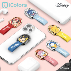 [S2B] DISNEY Wink Ring Holder_ Disney Character, Phone finger ring holder Phone Strap Phone Grip Compatible with All Smartphone Cases, with iPhone, Samsung Galaxy, Other smartphones, Tablet