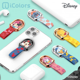 [S2B] DISNEY Cutie Ring Holder_ Disney Character, Phone finger ring holder Phone Strap Phone Grip Compatible with All Smartphone Cases, with iPhone, Samsung Galaxy, Other smartphones, Tablet