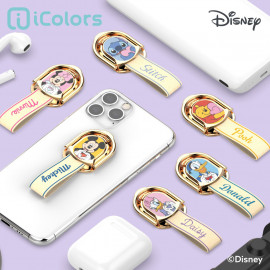 [S2B] DISNEY Heart Ring Holder_ Disney Character, Phone finger ring holder Phone Strap Phone Grip Compatible with All Smartphone Cases, with iPhone, Samsung Galaxy, Other smartphones, Tablet