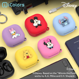 [S2B] DISNEY Galaxy Buds Live / Pro Silicon Case Cover _ Disney Character, Disney Pixar, Silicon Cover Protective Case Skin for Samsung Galaxy Buds Live(2020)/Galaxy Buds Pro(2021), Made in Korea