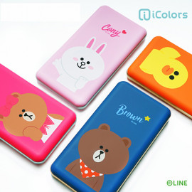 [S2B] LINE FRIENDS Power Bank 10,000mAh _ BROWN, CONY, SALLY, CHOCO, Portable Charger Quick Charging with iPhone, Samsung Galaxy, Tablet & etc