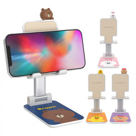 [S2B] LINE FRIENDS _  Figure desk phone stand_ BROWN, CONY, SALLY, CHOCO, iPhone, Samsung Galaxy, Galaxy Note