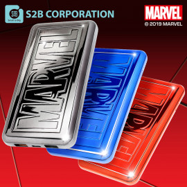 [S2B] MARVEL Power Bank 10,000mAh _ Portable Charger Quick Charging with iPhone, Samsung Galaxy, Tablet & etc