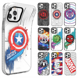 [S2B] MARVEL Icons Clear Line Case  for Samsung Galaxy Note _ Soft Jelly case Full Body Protective Cover For Samsung Galaxy Note 20/20Ultra/10/10Plus/9, Made In Korea