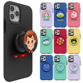 [S2B] TOYSTORY Pixar Friends Tok Case for Galaxy Note _ Soft Jelly Phone Grip Case Full Body Protective Cover For Samsung Galaxy Note 20/20Ultra/10/10Plus/9, Made In Korea