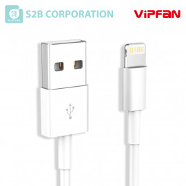 [S2B] VIPFAN X3 Cable _ MFi C89 Cable, Length 1m Data Transfer High-Speed Charging Cable Compatible with iPhone, iPad