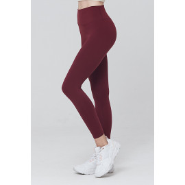 [AIRLAWLESS] CLWP9112 Daily Free Leggings Wine, Yoga Pants, Workout Pants For Women _ Made in KOREA
