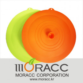 [Moracc] Silicone Frying Pan Cover Green _ Microwave dishwasher electric oven available, Made in Korea