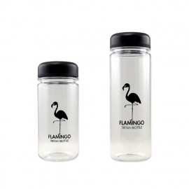 [BeVenuto] Flamingo Tritan Bottle 500ml Black _ BPA Free Water Bottle, For Fitness, Gym and Outdoor Sports, Made in Korea